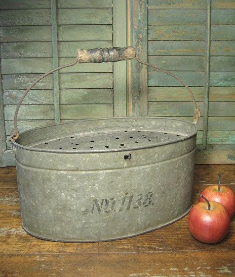983 best images about on pinterest for Galvanized well bucket