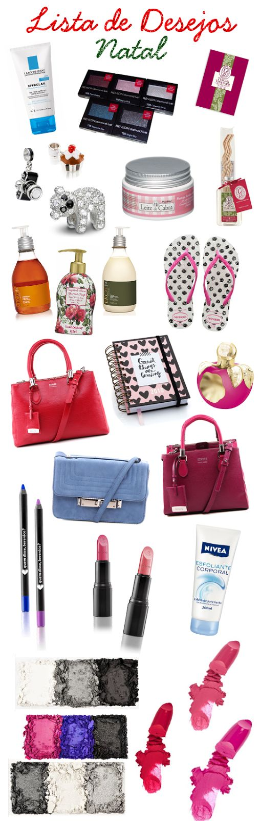 Paletas e batons da NYX na lista de presentes de Natal do blog Dicas e Compras