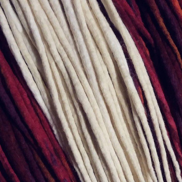 https://www.etsy.com/shop/MrsWoolsonHandmade ● #woolies #wooldreadlocks #wooldreads #dreadlocks #dreads #rasta #tribal #gypsy #dreadextensions #dread #handmade #handmadedreadlocks #wool