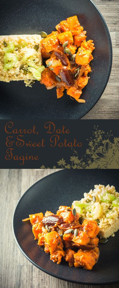 Sweet Potato Tagine with Carrots and Dates