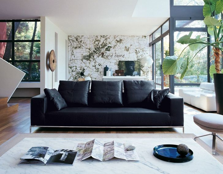 15 Most Comfortable Sofa Ideas To Increase Living Room Design Dexorate Leather Living Room Furniture Leather Couch Decorating Living Room Ornaments