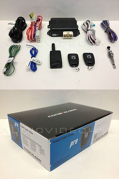 Remote Start and Entry Systems: Code Alarm Ca4053/Ca4054 One-Button Remote Start System Automatic Car Starter -> BUY IT NOW ONLY: $59.95 on eBay!