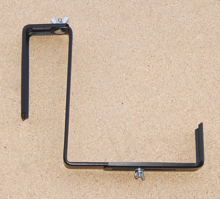 Planters For Railings Hooks: Brackets And Hooks For Hanging Baskets,window Boxes,window
