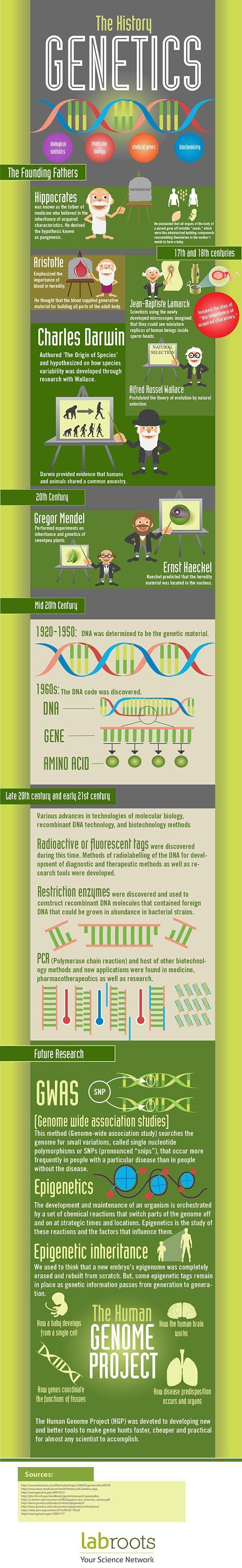 Histoire de la génétique