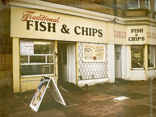Porto Fish and Chips.