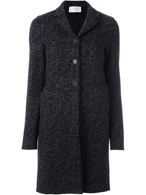 HARRIS WHARF LONDON animal print coat. #harriswharflondon #cloth #coat