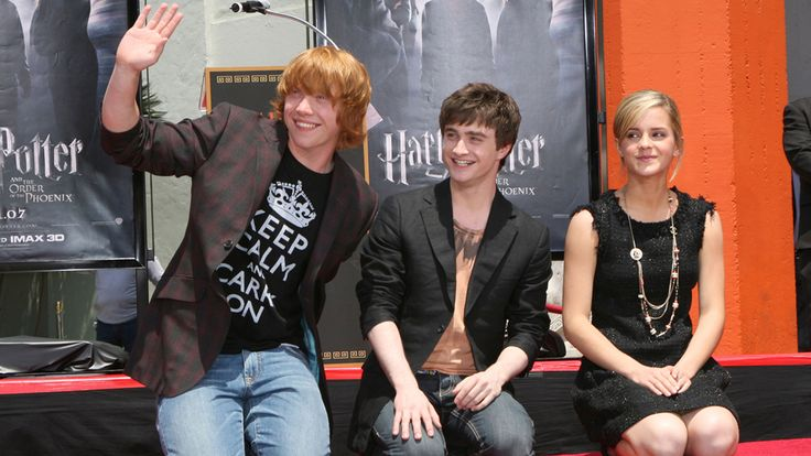 """The Cast of """"Harry Potter"""": Then and Now: Some of your favorite stars from the Harry Potter series like Daniel Radcliffe, Emma Watson, and Rupert Grint have grown quite a throughout the years. Check out what they look like now."""