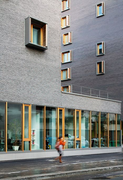 zac boucicaut - lot c  housing + cinema complex - paris  - michel guthmann - photo takuji shimmura