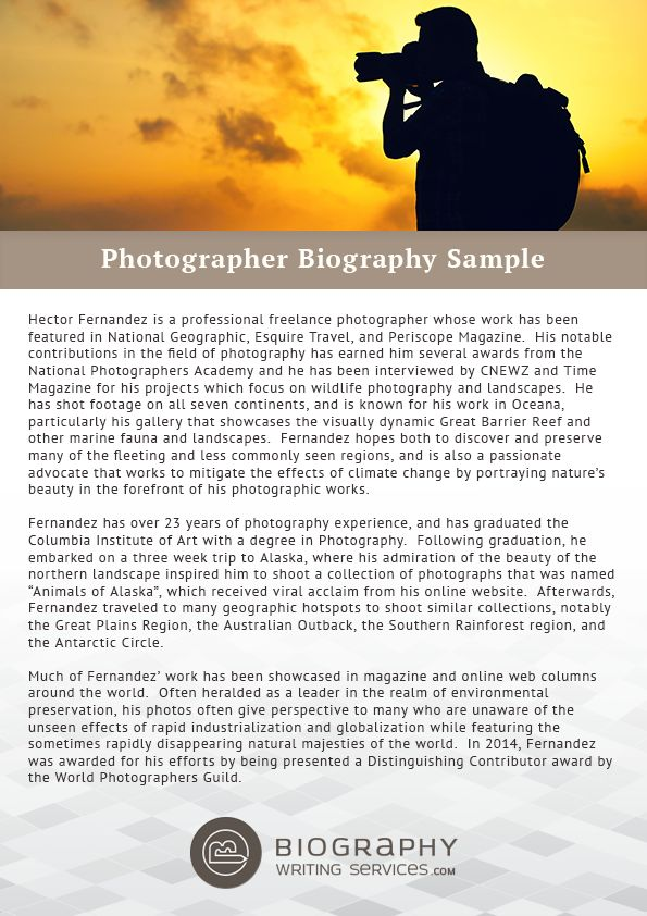 The 25+ best Personal biography examples ideas on Pinterest Best - personal resume website example
