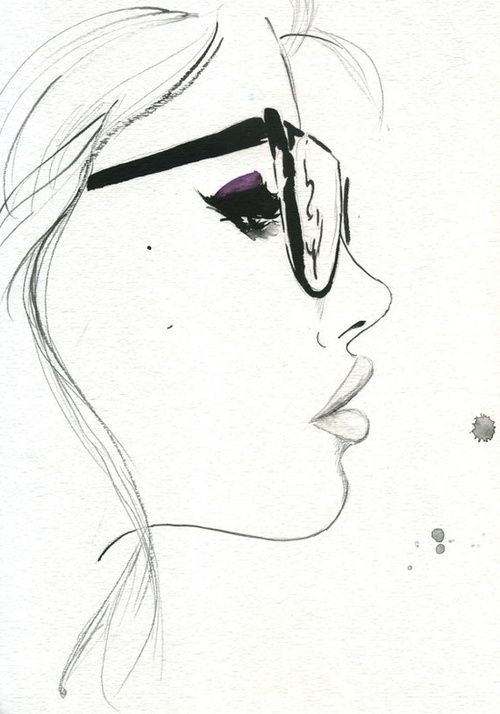 gallery nerdy girl drawing