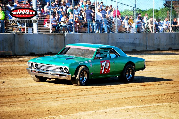 Dirt Track Race Cars: 7up - Chevy Dirt Track Race Car