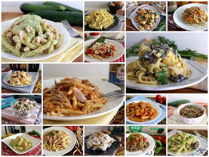 raccolta di primi piatti facili e veloci