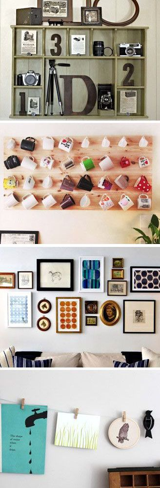 Creative Ways to Display Collections