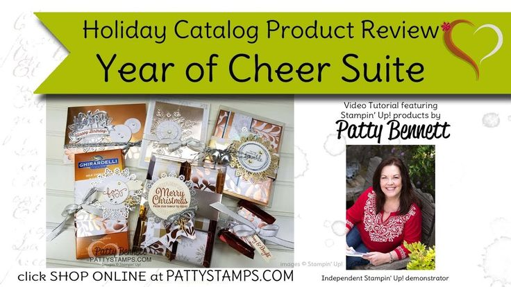 Year of Cheer Stampin Up Holiday Catalog product review