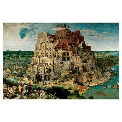 Ravensburger Brueghel the Elder: The Tower of Babel Puzzle - 5000 Pieces