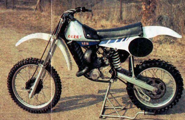 CZ  125 cc.1982