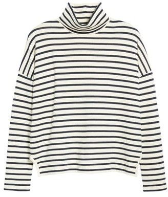 Madewell Women s Sailor Stripe Turtleneck Top  4f06fa1ef