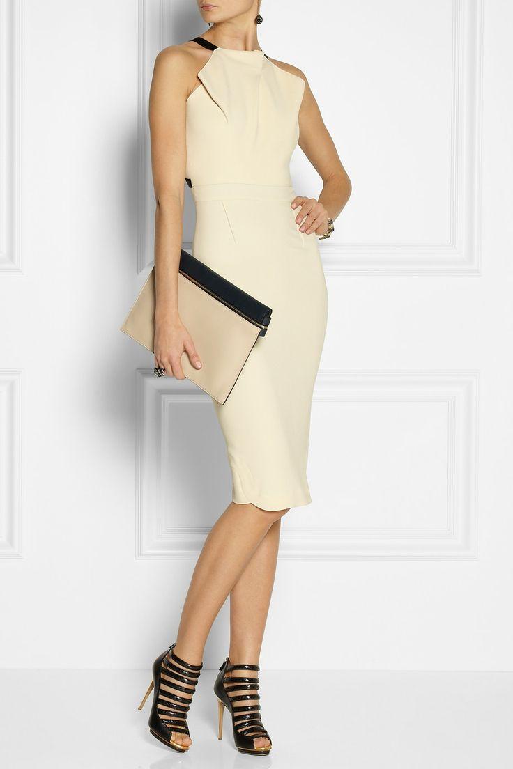 Roland Mouret|Abbotsford crepe dress|NET-A-PORTER.COM