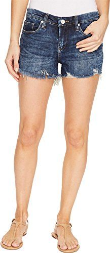 Blank NYC Women's Denim Cut Off Shorts in Bits and Pieces Bits and Pieces Shorts   Special Offer: $78.00      133 Reviews [BLANKNYC] Size Chart Dominate the conversation in [BlankNYC]™ jean shorts. Denim shorts feature a modern low rise and mini length. Heavily frayed cut-off hem....