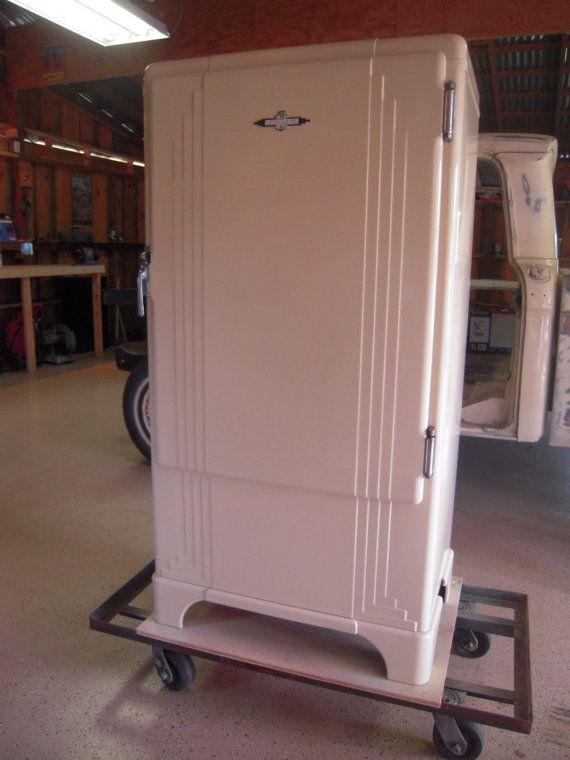 professionally restored 1930s gm frigidaire refrigerator on etsy 1 furniture. Black Bedroom Furniture Sets. Home Design Ideas