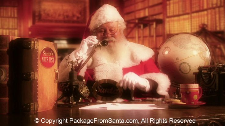 Free Personalized Phone Call from Santa with Every Letter from Santa