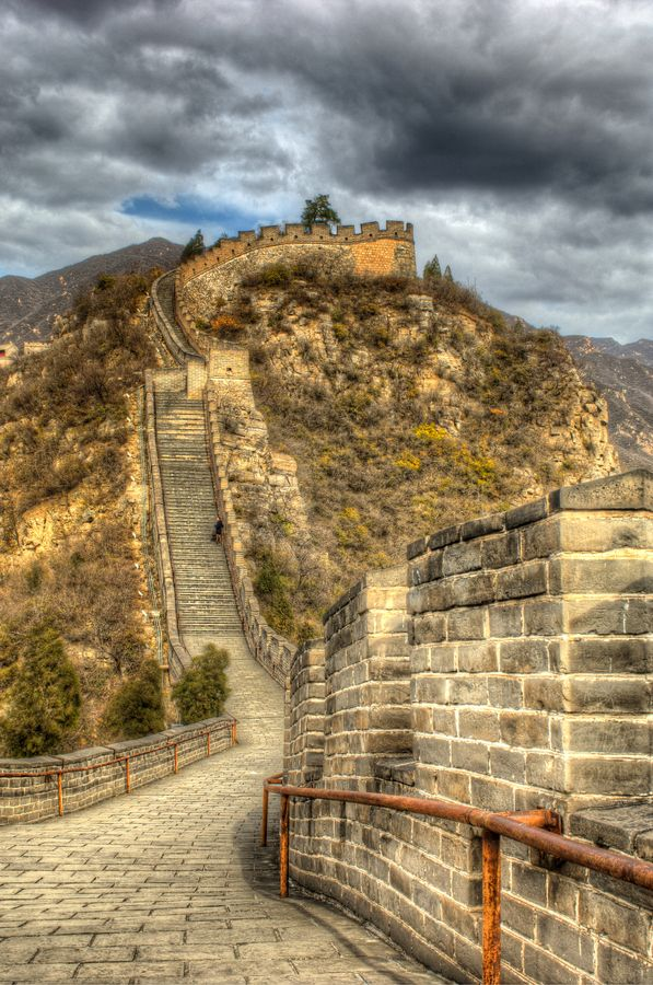 Great Wall, China. I hope to see it in person some day. When I was a child, travel to China was not allowed. Times have changed.Thanks, Nixon!