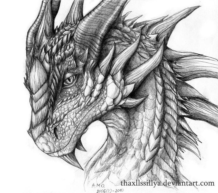 The Wise Dragon by Naseilen.deviantart.com on @deviantART