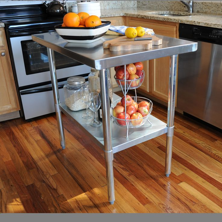 17 Best Ideas About Kitchen Island Table On Pinterest: 25+ Best Ideas About Stainless Steel Work Table On