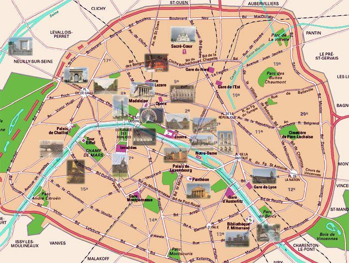 plan de paris et carte interactive : www.dataparis.io