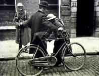 The Anglo-Irish war - How did a small guerrilla army manage to win independence from the most powerful empire the world had ever seen? Discover where and when the first shot was fired in Ireland's war of independence. Image: A cyclist being searched by a British soldier, Dublin 1921 ©