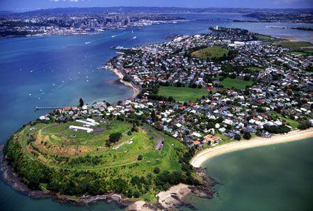 Devonport, a suburb of Auckland