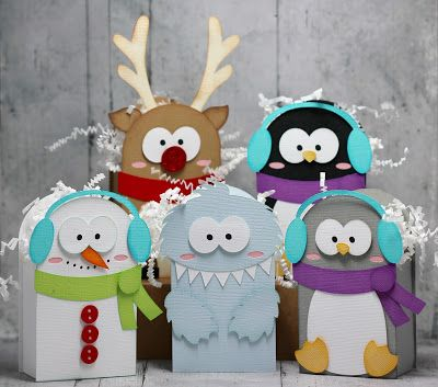Winter Character Boxes
