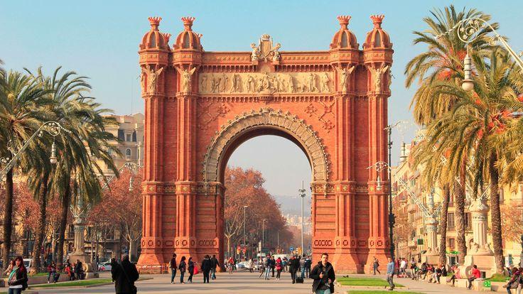 Arco de Triunfo de Barcelona  #viajar #españa #turismo #barcelona #monument #españa
