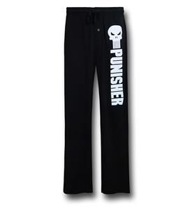 Punisher Symbol and Text Lounge Pants