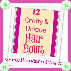 12 hair bows