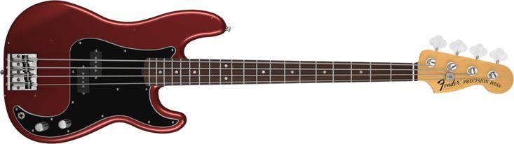 Nate Mendel P Bass®   Precision Bass® Bass Guitars   Fender® Bass Guitars
