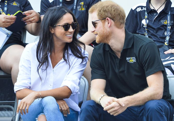 Prince Harry and Meghan Markle are feeling the love at the Invictus Games!