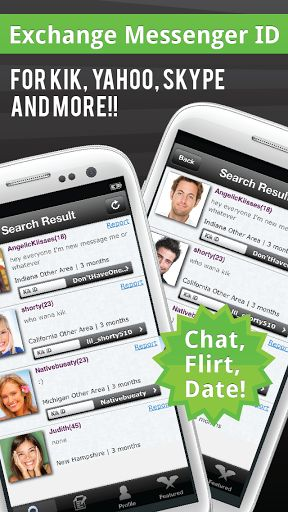 Chat messenger dating site