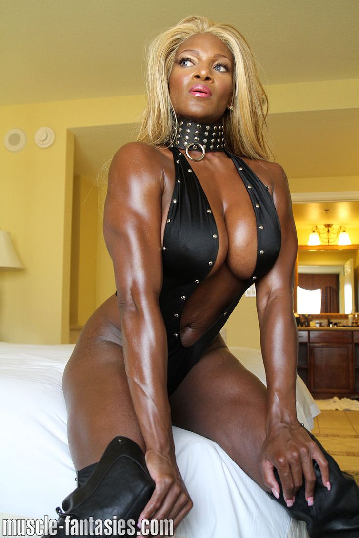 Black-Woman-Dominating-White-Man A Goddess   Dommes-2198