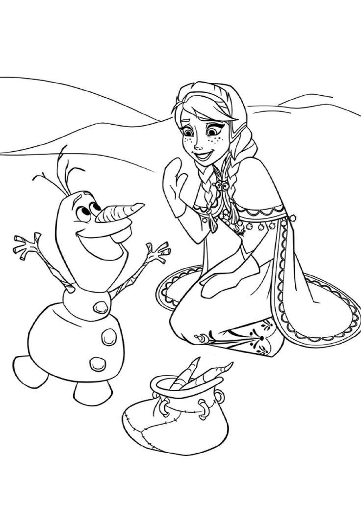 coloriage reine des neiges