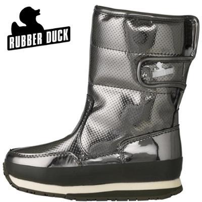 Rubber Duck Kids Classic Snowjogger Gun Metal Lak