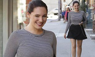 Kelly Brook must be feeling better than ever after having lost three inches from her waist in just a couple of weeks.