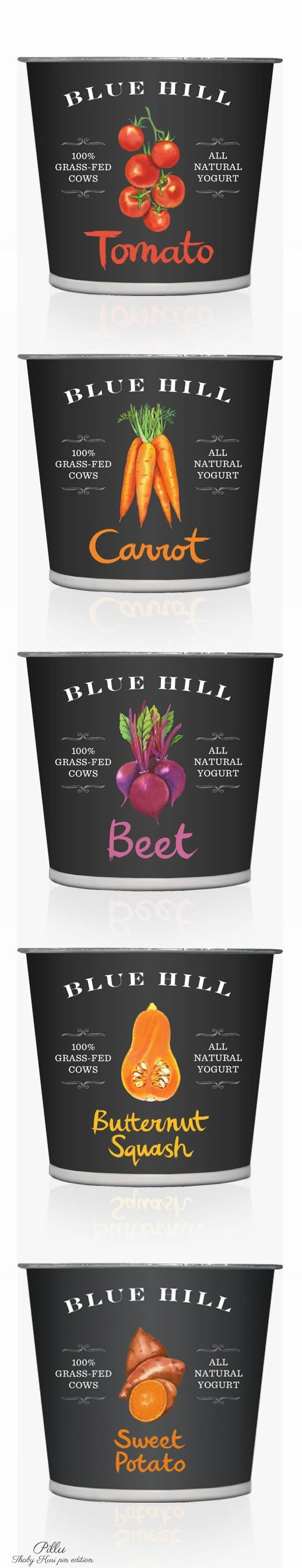 Blue Hill Yogurt  #packaging #yogurt #beautifulfood