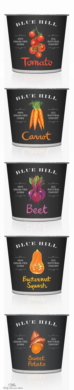 Blue Hill Yogurt  #packaging #yogurt #beautifulfood