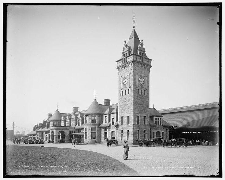 Union Station, Портленд, штат Мэн