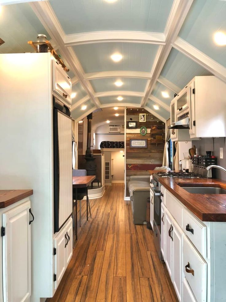 Fully converted off grid skoolie converted bus for sale