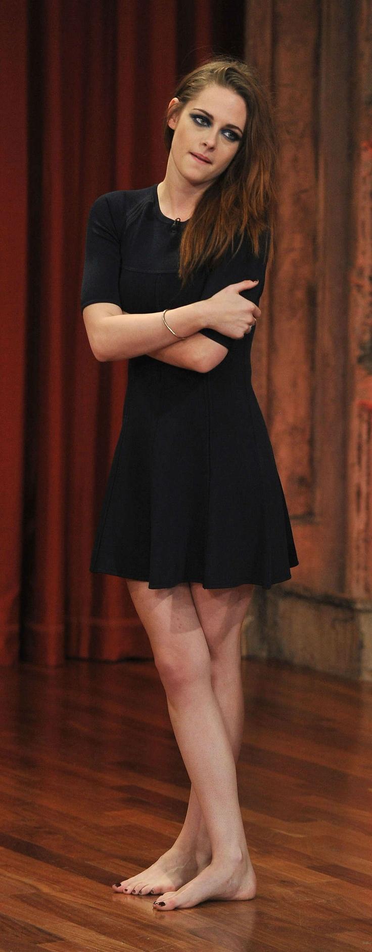 Kristen Stewart on Jimmy Fallon - November 2012