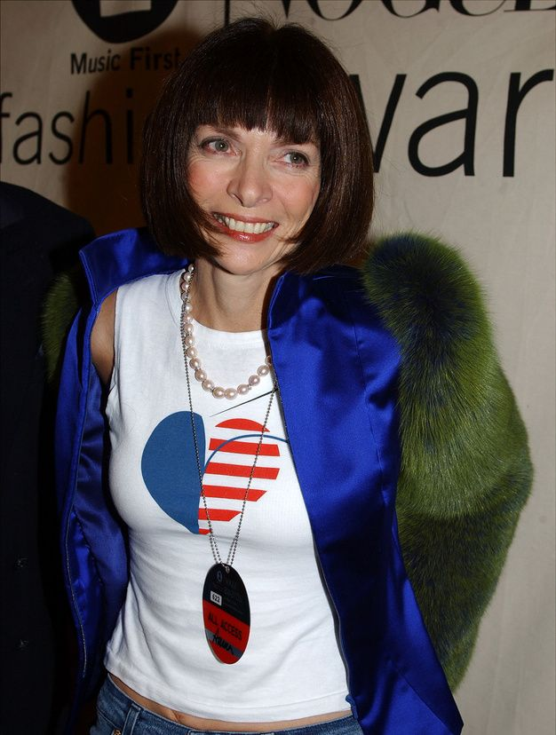 Anna Wintour in 2001