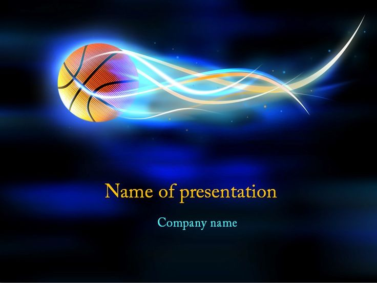 54 best Sports images on Pinterest Templates, Basketball players - basketball powerpoint template