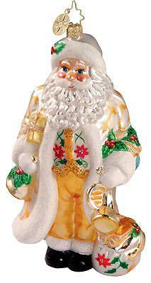 RADKO 1012387 SANTA SONG - HORN - RETIRED ORNAMENT #Ornament